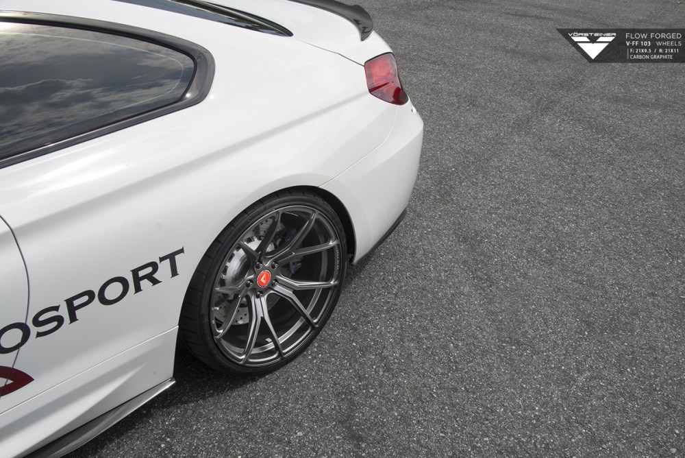 F13 BMW M6 Vorsteiner V-FF 103 Flow Forged Wheels Aero Kit