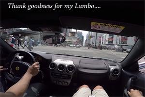 Ferrari F430 Lambo Mustang