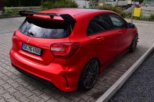 Folien Experte Mercedes-Benz A45 AMG