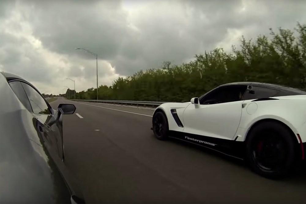 Lamborghini Huracán vs Corvette Z06