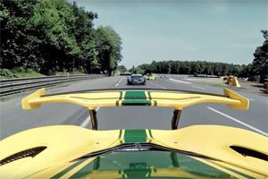 McLaren Le Mans Victory Lap