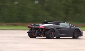 Twin-turbocharged Lamborghini Gallardo