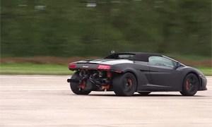 Twin-turbocharged Lamborghini Gallardo