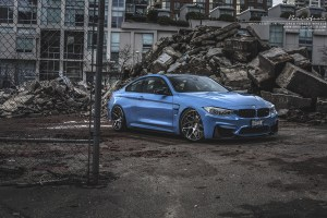 BMW M4 Brixton Forged CM7 Targa Wheels