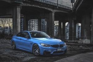 BMW M4 Brixton Forged CM7 Targa Wheels