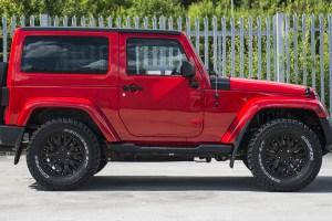 Firecracker Red Jeep Wrangler CJ300 Chelsea Truck Company