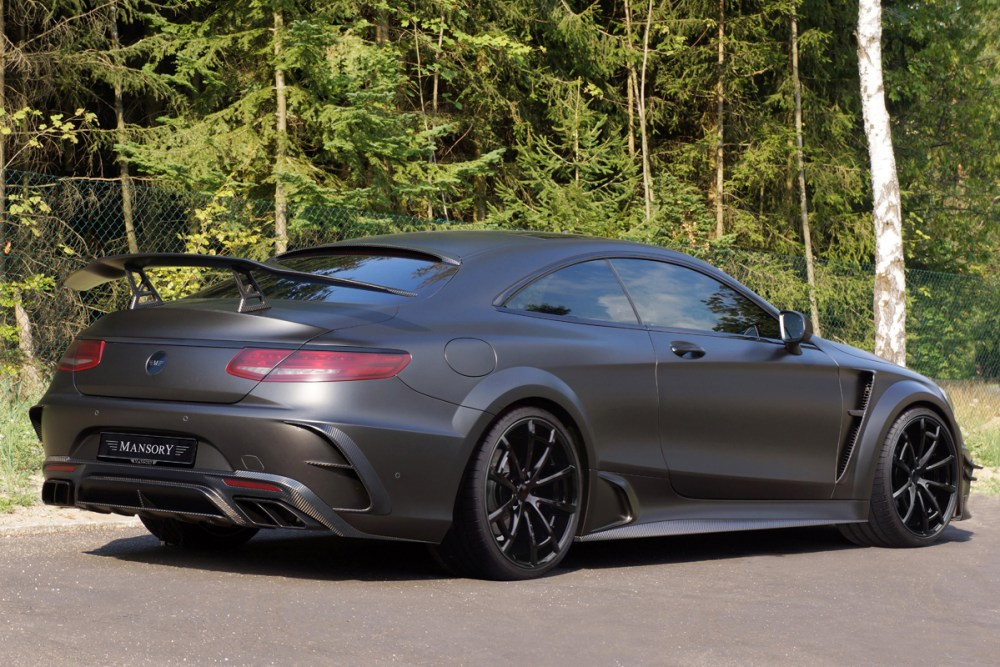 Mansory Mercedes-AMG S63 Coupe Black Edition