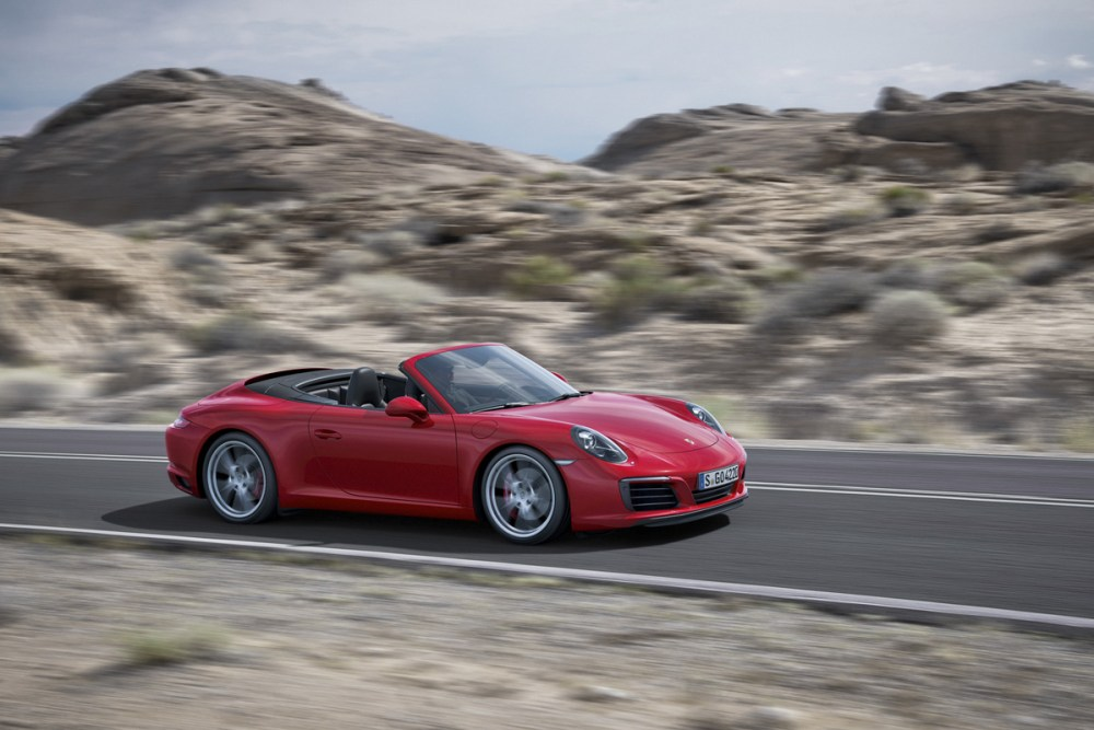 Turbocharged 911 Carrera S Cabriolet