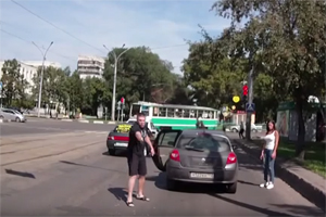Friday FAIL Russian Road Rage