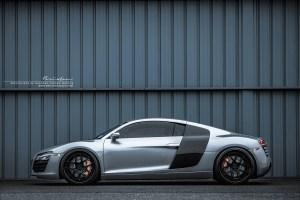Audi R8 V10 with Brixton Forged CM5 Targa Series Wheels