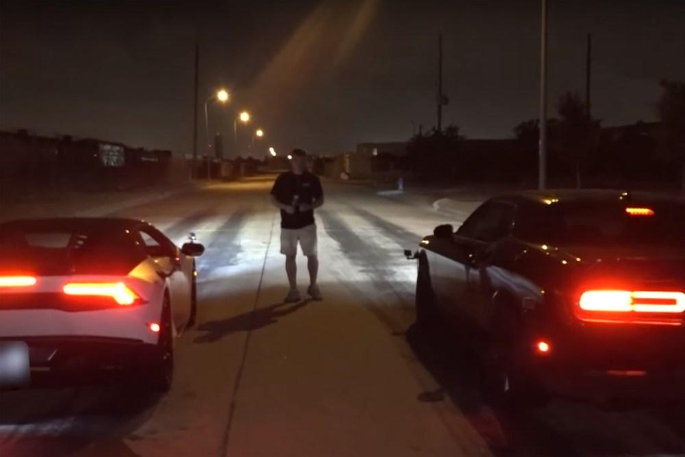 Stolen Huracan Mexico Street Racing