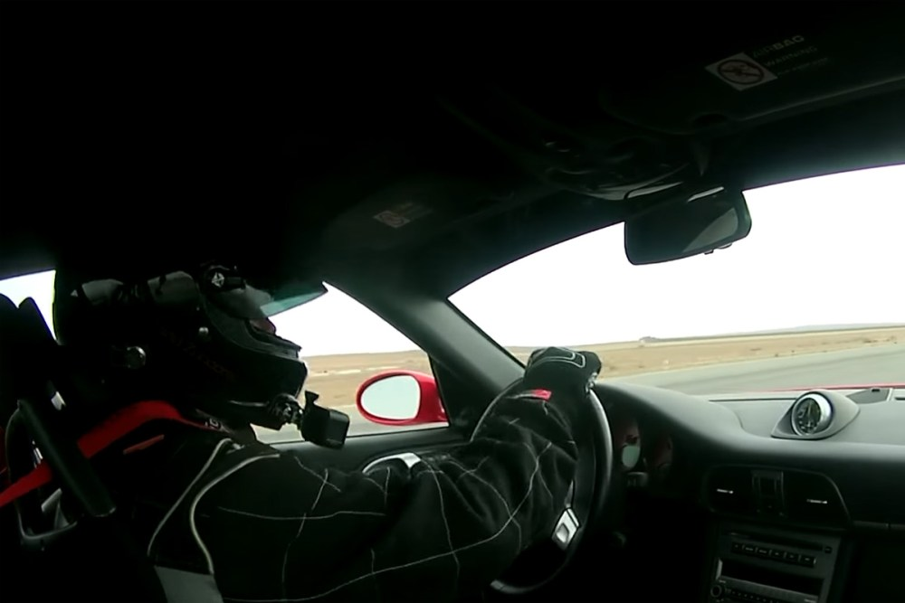 Shift S3ctor Porsche 911 Spin out 202 mph