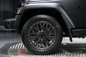Volcanic Rock Jeep Wrangler Sahara 2.8 Diesel Chelsea Truck Company CJ300 LE