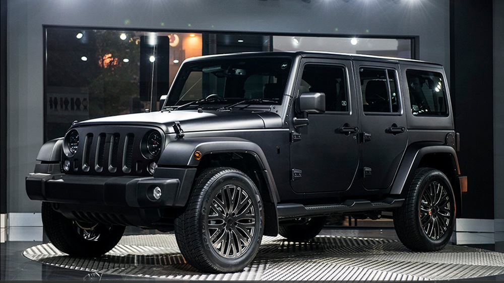 All Terrain Luxury With The Chelsea Jeep Wrangler Cj300 Le