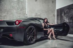 Ferrari 458 Italia with Brixton Forged CM5 Targa Series Wheels