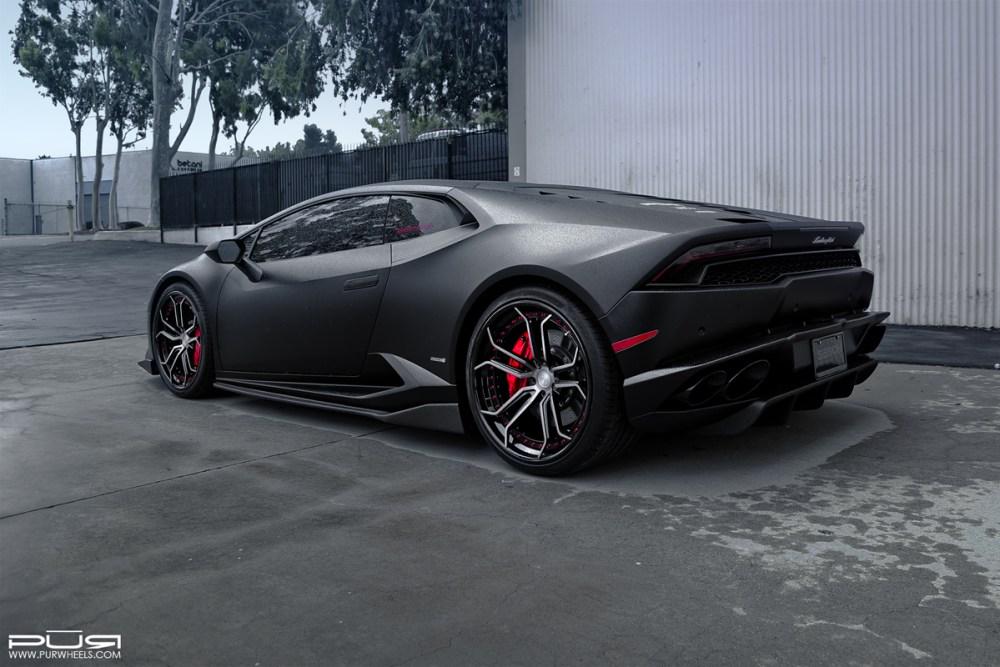 Lamborghini Huracan with PUR LX10.V3 Forged Wheels