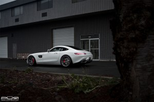 Mercedes-AMG GT S with PUR 4OUR.M2 Wheels by SR Auto Group