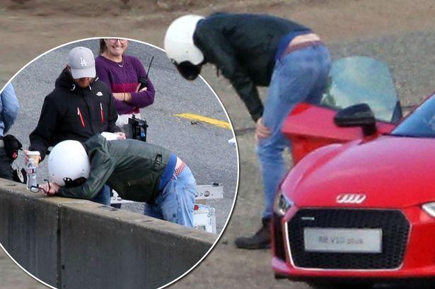 Chris Evans Car Sick