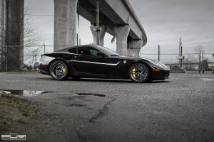 Ferrari 599 GTB Fiorano with PUR LX22.V3 Wheels