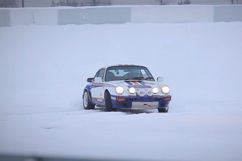 Porsche 911 SCRS in Snowy Nurburgring