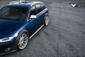 Audi Allroad with Vorsteiner V-FF 102 Flow Forged Wheels