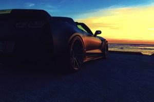 Chevrolet Corvette Z06 with Brixton Forged M53 Monaco Series Wheels