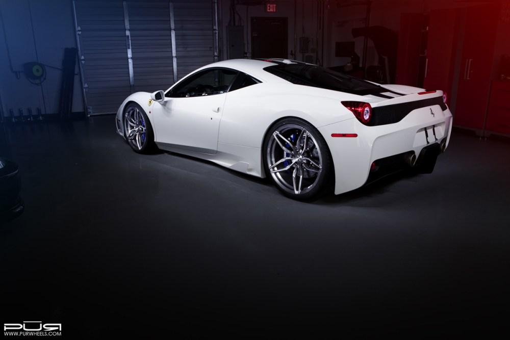 Ferrari 458 Speciale with PUR RS23 Forged Wheels