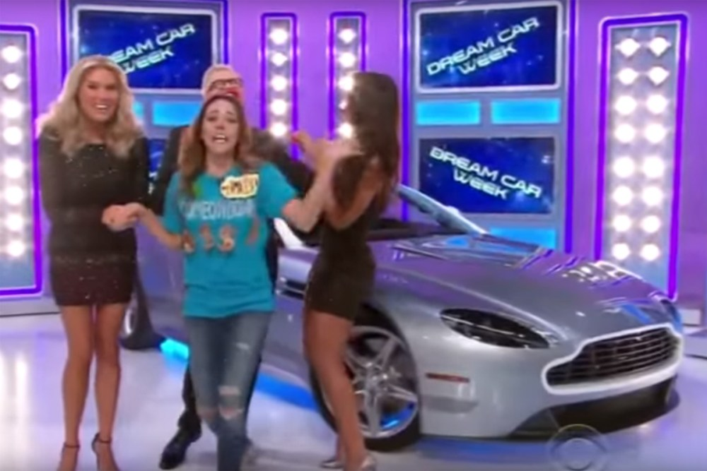 Aston Martin Winner on The Price is Right