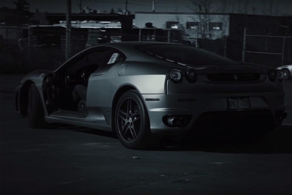 Door-Less Ferrari F430