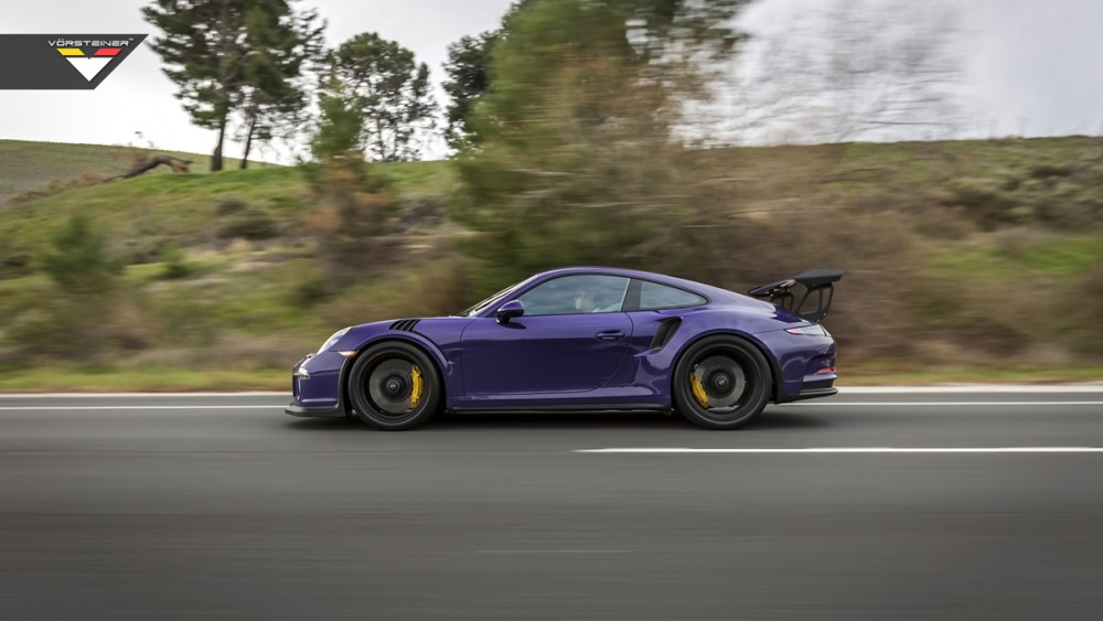 Purple Vorsteiner Porsche 911 GT3 RS Purple Vorsteiner Porsche 911 GT3 RS