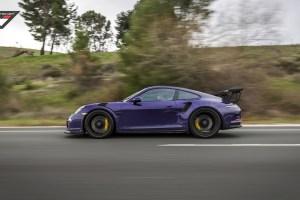 Purple Vorsteiner Porsche 911 GT3 RS Purple Vorsteiner Porsche 911 GT3 RS