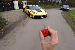 Prior Design Ferrari 458 Italia POV Drive