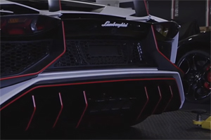 Lamborghini Aventador LP 750-4 SV with Armytrix Exhaust