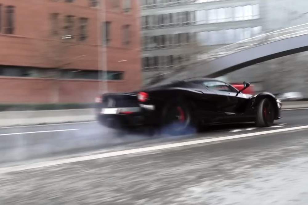 Ferrari LaFerrari Prague