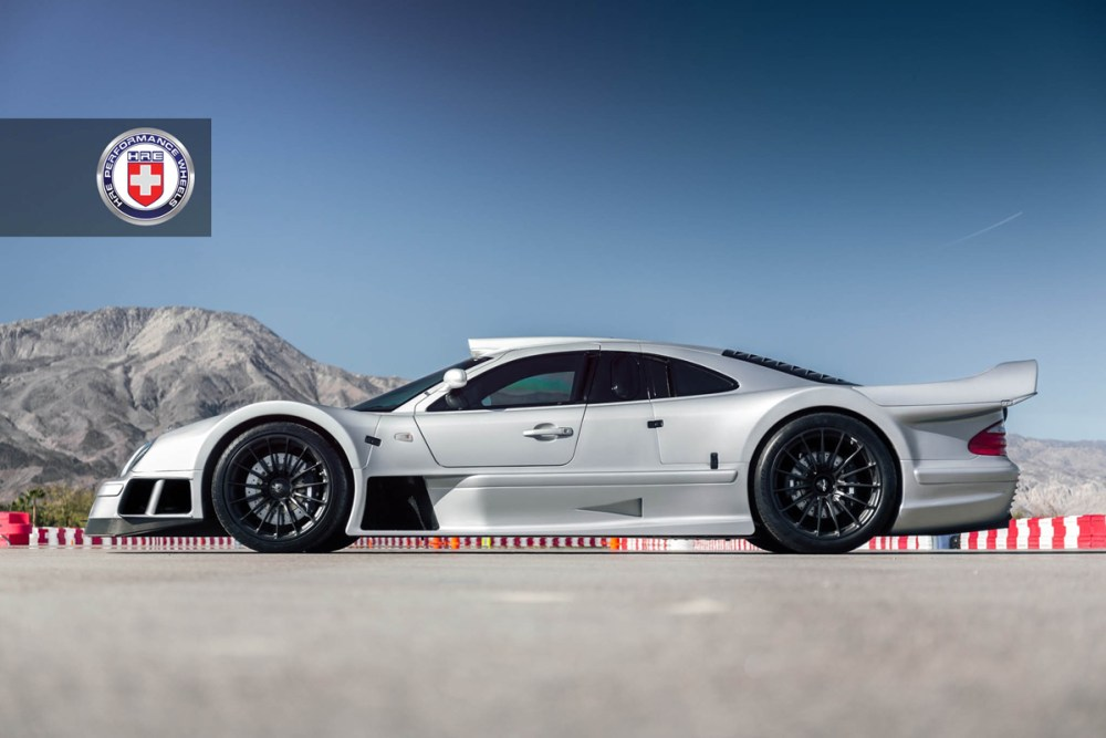Mercedes-Benz CLK GTR with HRE P103 Forged Wheels (8)
