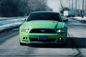 Hulk GT Mustang Ride Along