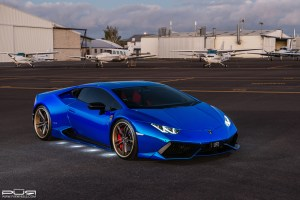 Lamborghini Huracan with PUR LX14 Forged Wheels by Sunus Motorsports
