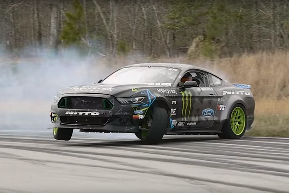 Vaughn Gittin Jr Mustang RTR Test