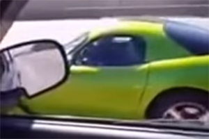 Dodge Viper GTS Crash