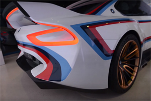 BMW 3.0 CSL Hommage R Exhaust