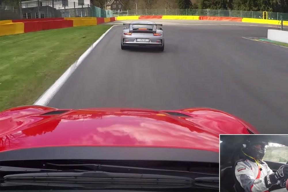 Ferrari F12tdf at Spa-Francorchamps