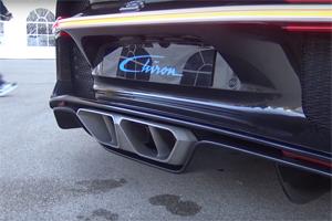 Bugatti Chiron cold start