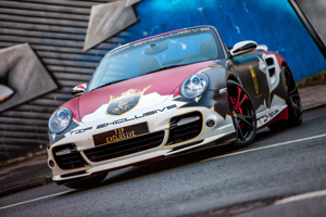 TIP-Exclusive 911 Turbo Art Car