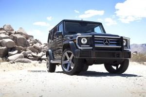 Mercedes-Benz G-Class Fondmetal STC02 Wheels Atturo Tires
