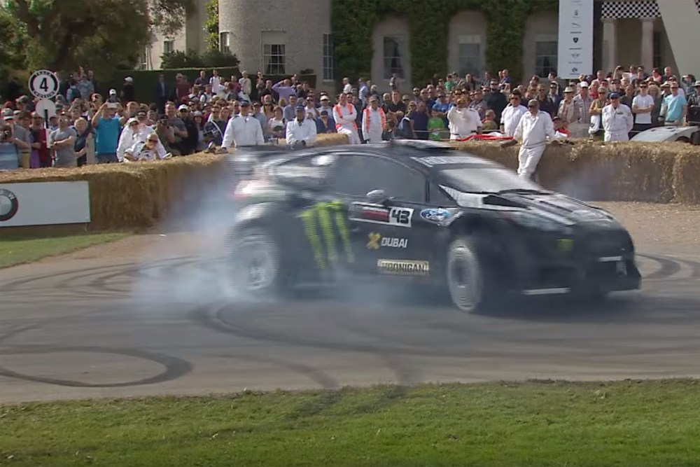 Ken Block Goodwood Festival of Speed Ford Fiesta RX43 Gymkhana 8