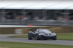 McLaren P1 LM Goodwood Record