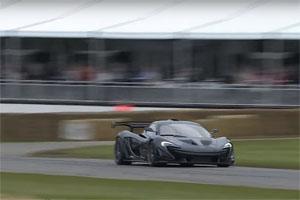 McLaren P1 LM Goodwood Record