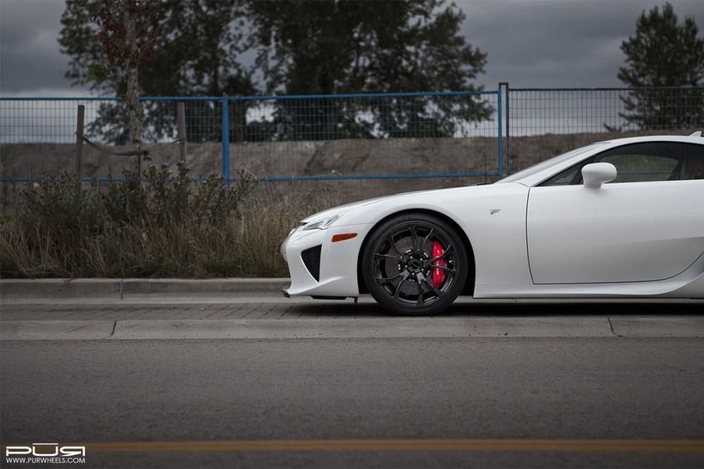 Lexus LFA PUR RS04 Wheels