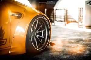 Liberty Walk BMW M3 with Brixton Forged WR3 Targa Series Wheels
