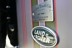 """Chelsea Truck Company Land Rover Defender """"London Motor Show Edition"""""""